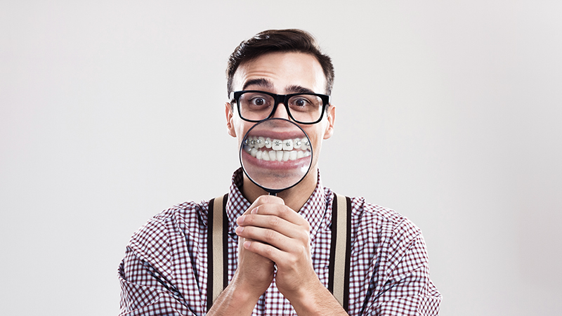 tratamento prótese dentária com aparelho ortodôntico