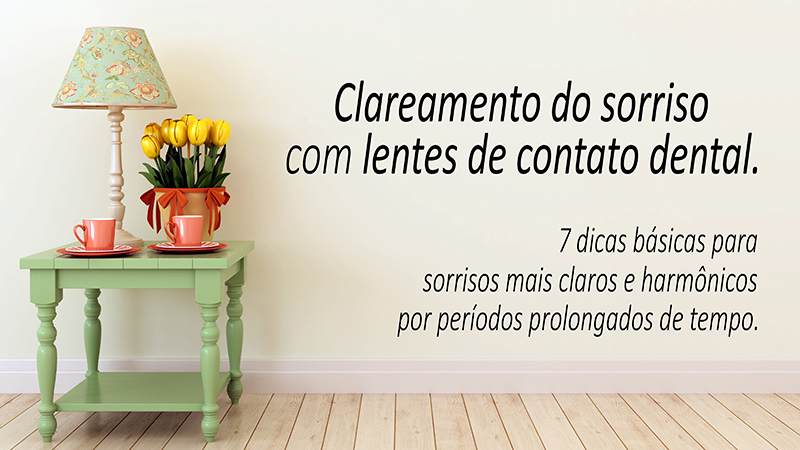 clareamento lente de contato dental post