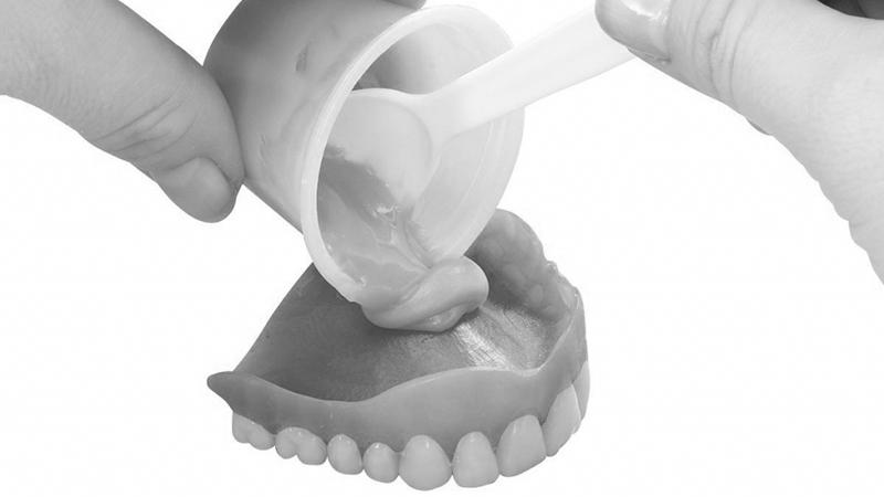 dentadura de silicone